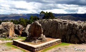 Qenqo - City Tour Cusco