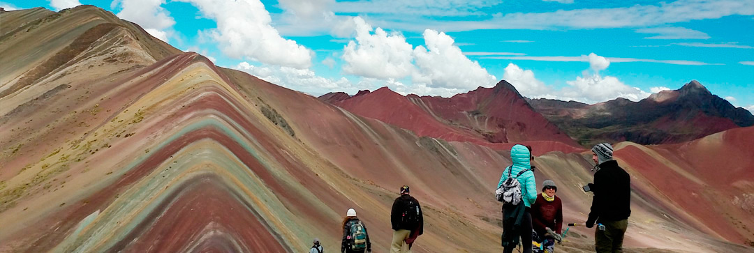 Vinicunca Rainbow Mountain Peru